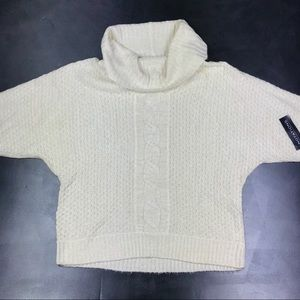 Notations Cowl Neck Sweater New